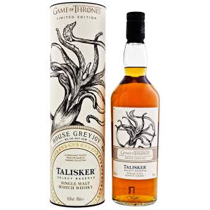 House Greyjoy & Talisker Select Reserve - Game of Thrones