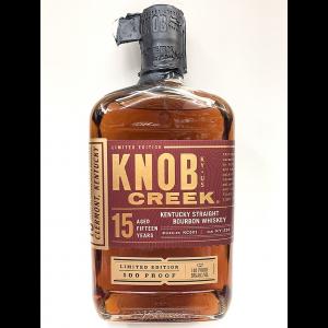 Knob Creek 15 Year Limited Edition