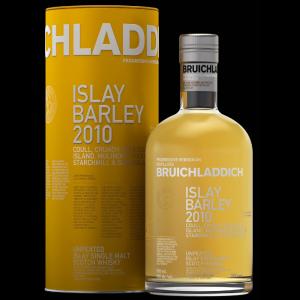 Bruichladdich Scotch Single Malt Islay Barley 2010
