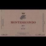 Montesecondo Anfora Tin Sangiovese 2017 Label
