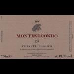 Montesecondo Chianti Classico Label