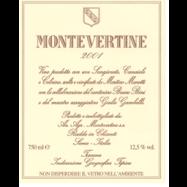 """Montevertine """"Rosso di Toscana"""" Label"""