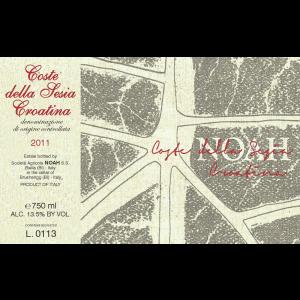 Noah Croatina Cote Della Sesia Label