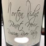 Norton Ridge Pinot Noir