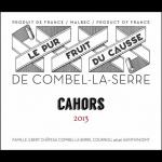 Chateau Combel Cahors La Serre Le Pur Fruit Du Causse Label