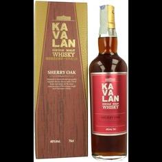 Kavalan Redstone Single barrel Single Malt Sherry Oak