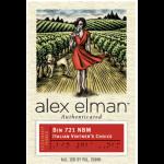 _Alex Elman Authenticated Bin 721 NBM