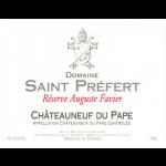 Domaine Saint Préfert _Réserve Auguste Favier Label