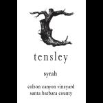 Tensley Syrah Colson Canyon Label