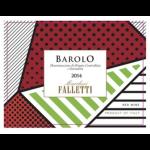Marchesi Falletti Barolo 2014 Label