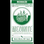 Mezonte Jorge Perez Michoacan Alto Mezcal Label