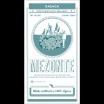 Mezonte Teodoro Garcia Oaxaca Bicuixe & Espadine Label
