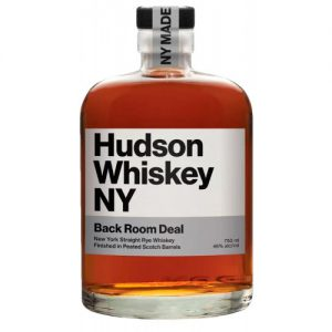 Tuthilltown Spirits Hudson Whiskey NY 'Back Room Deal' Straight Rye Whiskey