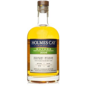 2005 Holmes Cay Port Mourant Demerara 15 Year Old Single Cask Rum