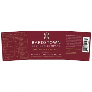 Bardstown Bourbon Discovery Series #5 Label