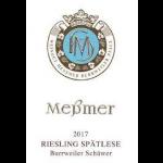 Messmer Burrweiler Schawer Riesling Spatlese 2017