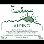 Cantina Furlani Alpino Frizzante Label