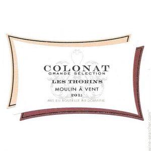 Domaine de Colonat Moulin-a-Vent Les Thorins
