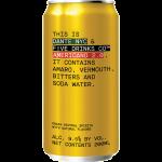 Five Drinks CO & Dante NYC Americano