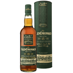 Glendronach Revival 15 Year Highland Single Malt Scotch Whisk