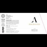 Goldatze Johannisberger Vogelsang Riesling Trocken Label