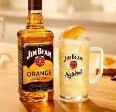 Jim Beam Orange Bourbon Whiskey