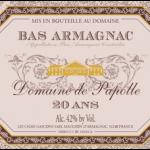 Domaine De Papolle Armagnac 20 Years