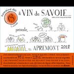 Les 13 Lunes Vin de Savoie Apremont Label