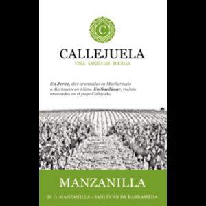 Manzanilla Sanlucar de Barrameda Label