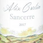 Alix Carlin Sancerre Label