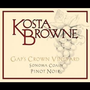 Kosta Browne Gap's Crown Vineyard Pinot Noir Label