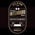 Interboro Straight Malt Whiskey 4 Years Old 50 Abv