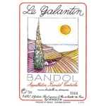 Le Galantin Bandol Rose Label